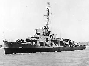 USS William C. Miller DE-259