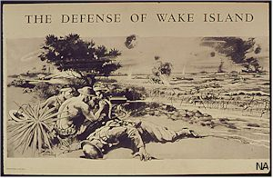 Poster: Defense of Wake Island